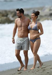 Kym Marsh in a bikini
